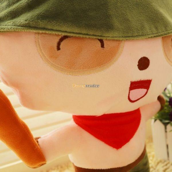Fancytrader 33\'\' 85cm Super Cute Soft Plush Biggest LOL Teemo Toy, Free Shipping FT50149 (2)