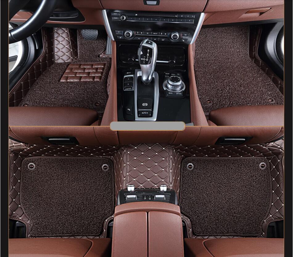 Floor mats honda civic 2017 - For Honda Civic 2016 2017 Floor Mats Foot Carpets Auto Step Mat High Quality Brand New Embroidery