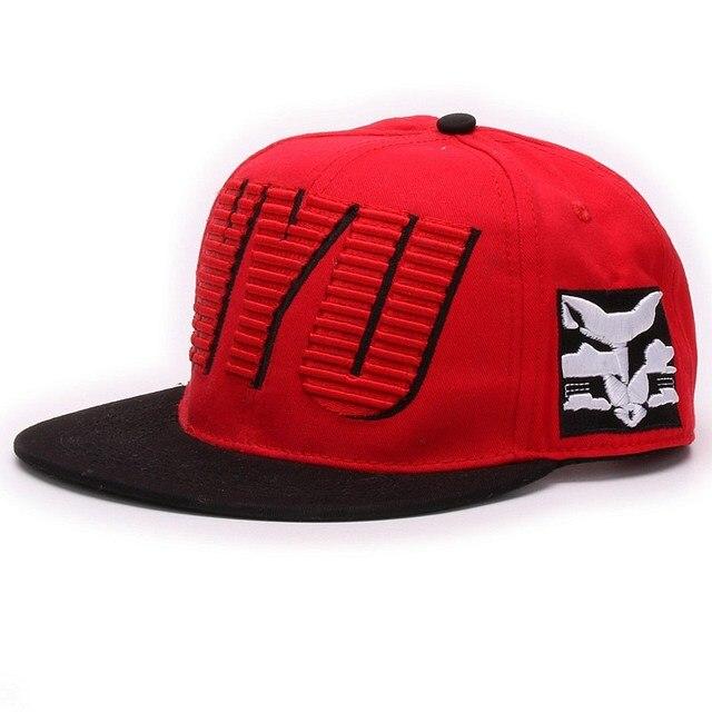 Высокое качество НЮ вышивка регулируемая хлопок шапки и шляпы спорта шляпа Хип-Хоп бейсболки лето стиль мужчины женские ремень обратно cap