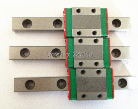 3pcs MGN12 L300mm linear rail + 3pcs MGN12C sesibibi 3pcs цвет случайный