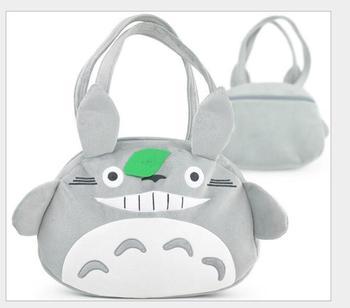 5 pcs/lot! Carton Totoro Shoulder Bag Lovely Handbag Girl Birthday Present