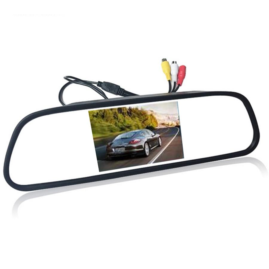 4 3 4 3 inch TFT LCD Color font b Car b font rear view mirror