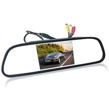Дюймов 4,3 «4,3 дюймов TFT ЖК-дисплей цвет автомобиля зеркало заднего вида монитор видео dvd-плеер автомобиля аудио авто для автомобиля обратная камера