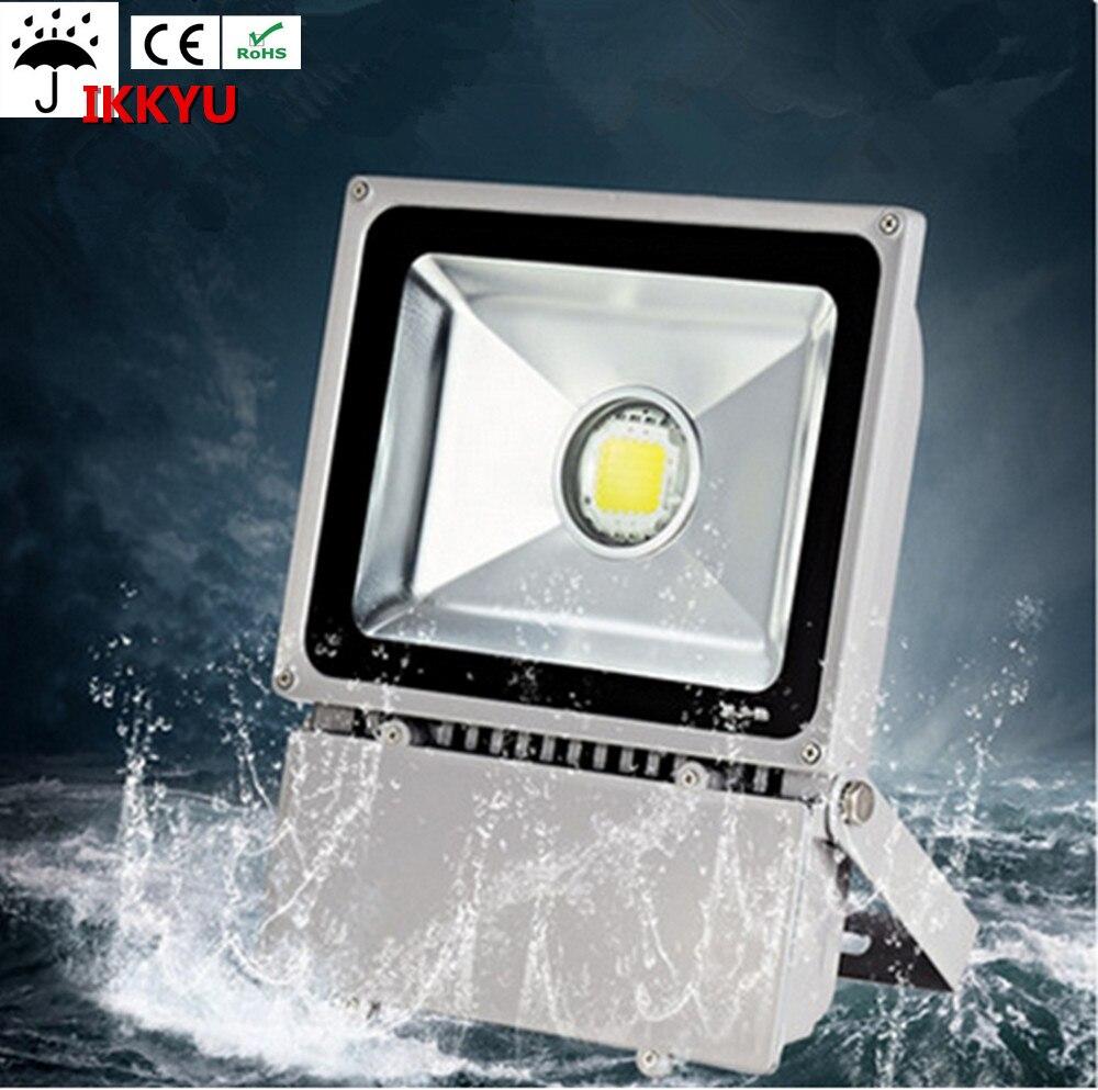 20w30w50w70w80W100w waterproof outdoor led floodlight outdoor projection lamp AC85-265V spotlight