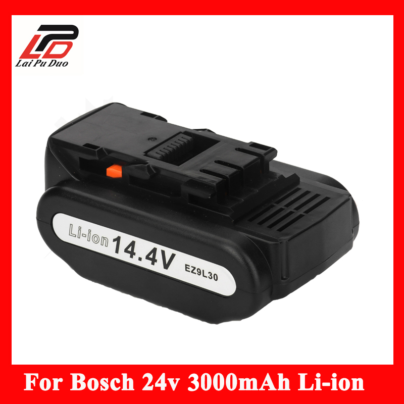 100% batterie de remplacement d'origine pour Panasonic Li-ion 14.4 V 3000 mAh EY9L40B, EY9L41B, EY9L42B, EZ9L41, EZ9L42, EZ9L40, EY7940LZ2S31