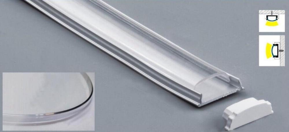 nemokamai Pristatymas lenkiamas LED juosta Aliuminio profilis su - LED Apšvietimas - Nuotrauka 2