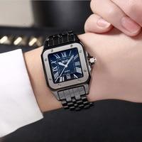 DALISHI Luxury Brand Women Watch Square Roman Dial Lady's Watch Fashion Famale Quartz Date Clock Relogio Feminino Reloj Mujer