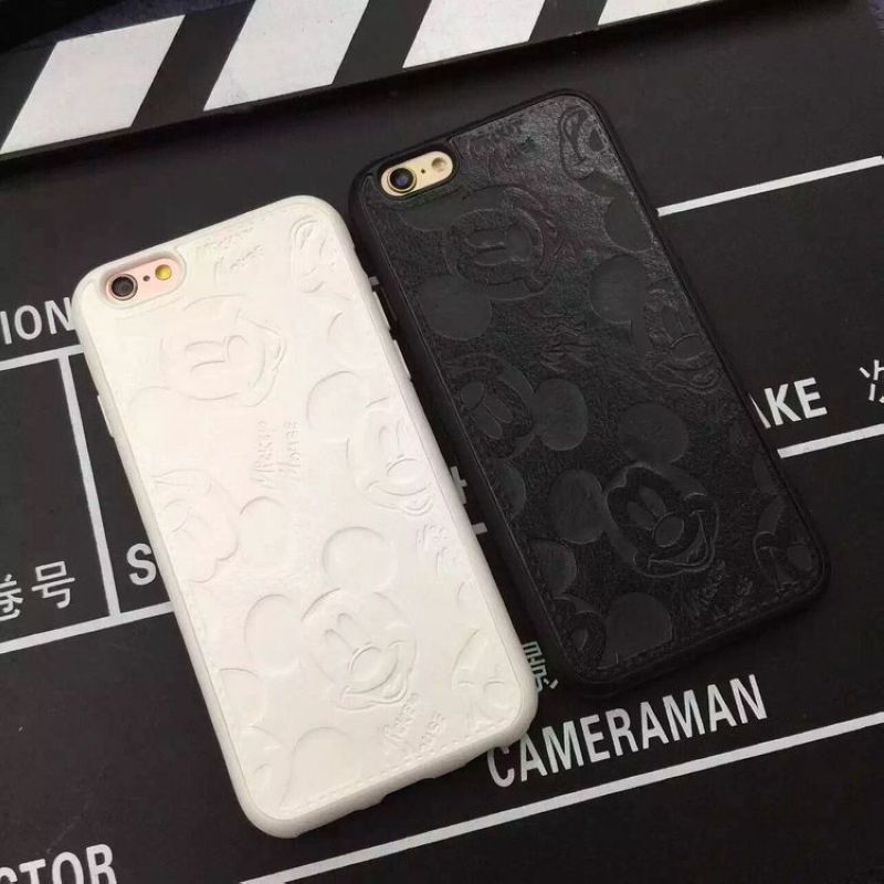 Para iphone 7 7 plus case case teléfono de dibujos animados de mickey mouse de l