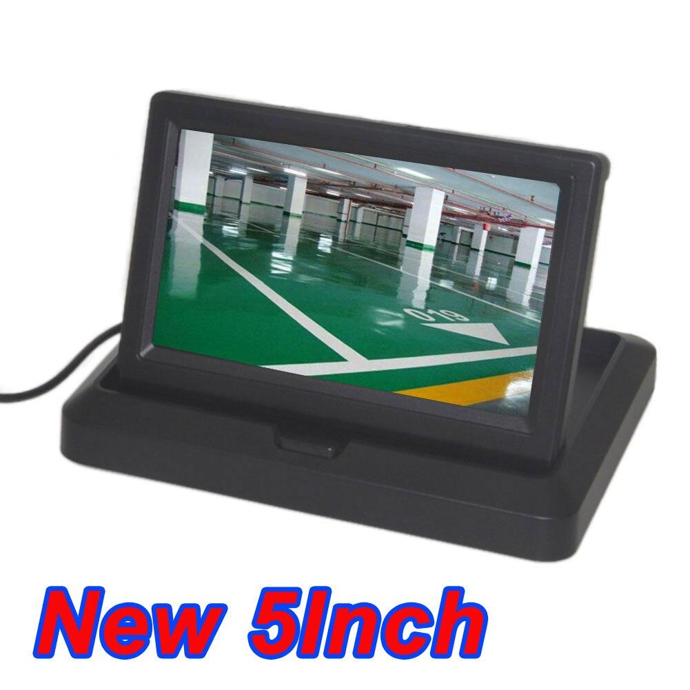 Car <b>5 Inch</b> Folding <b>New</b> Digital Screen 2 Channel Video Input DVD ...