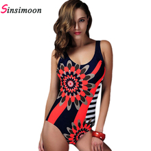 New Fashion Tide Sexy One Piece Swimsuit For Women Print Swimwear Hot Selling Bathing Suit Bodysuit PW15012