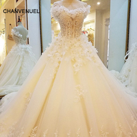 LS88321 special wedding dresses lace ball gown corset back wedding gowns 2017 robe de mariage real photos china online wholesale