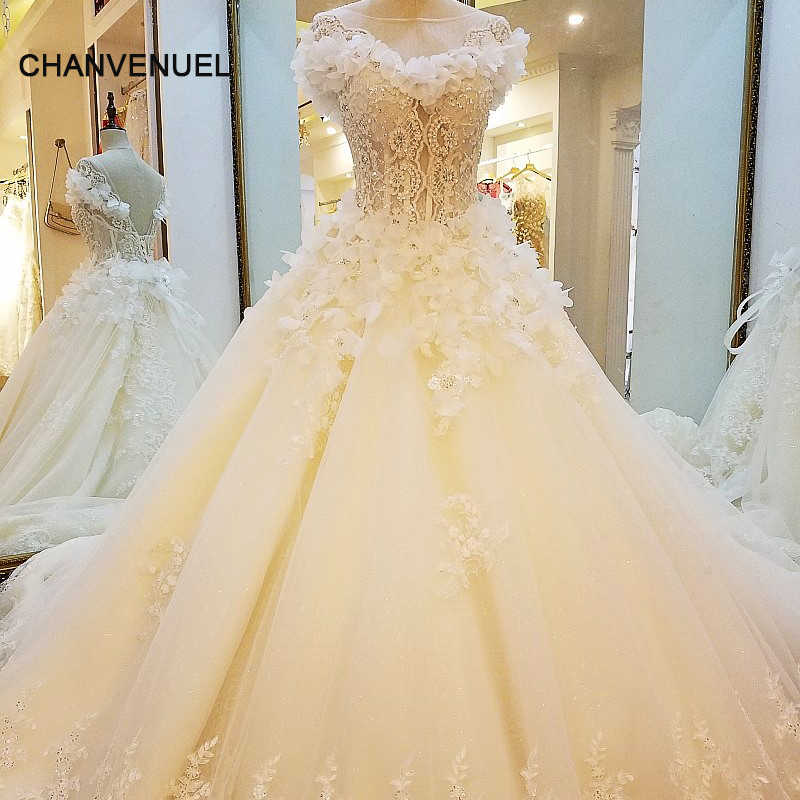 Wholesale Wedding Dresses.Ls88321 Special Wedding Dresses Lace Ball Gown Corset Back Wedding Gowns 2017 Robe De Mariage Real Photos China Online Wholesale