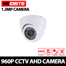 HD AHD 720P 2000TVL 960P 2500TVL IR Mini Dome Camera Analog AHD Camera indoor IR CUT Night Vision Plug and Play for AHD DVR
