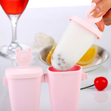 DIY Ice Lolly Cream Molds Tray Shaped Pop Stick Makers Mould Dropshipping X