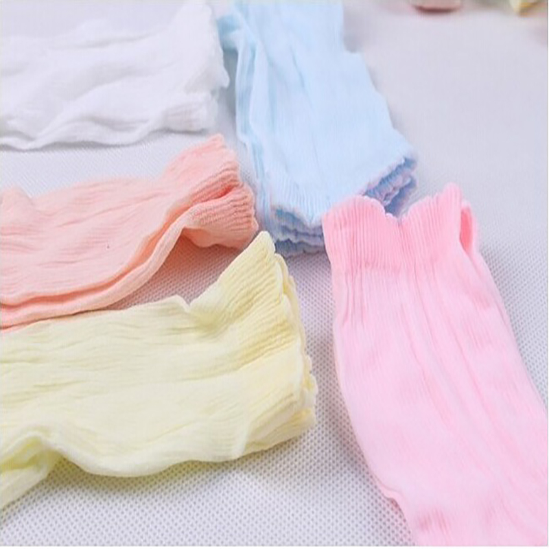 5Pairs/Pack Baby Loose Mouth Socks Children Candy Socks Kids Summer Toddlars Short Sock For 0-4 Years