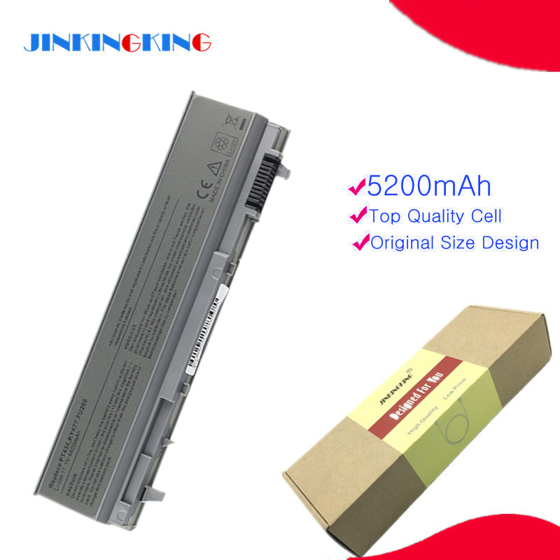 Laptop battery for Dell Precision M2400 M4400 M4500 312-0748 KY266 W1193 312-0754 KY477 For Latitude E6500 E6400 image