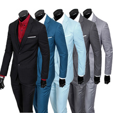 Платье/мужчины костюмах-тройках/мужской брюки) хорошего жениха (куртка коллекция пиджаки slim бизнес fit