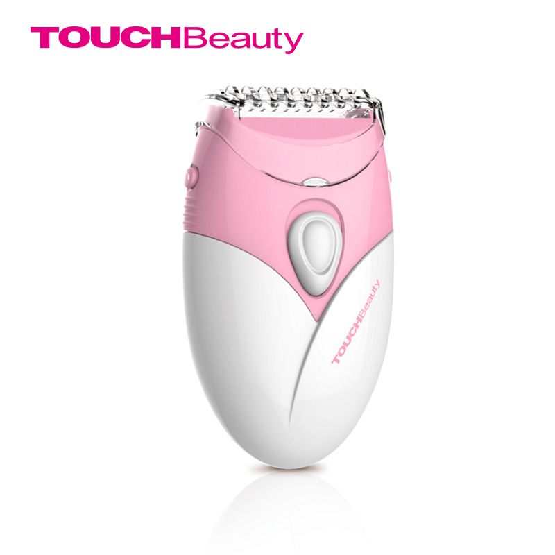 TOUCHBeauty Lady Shavers Epilators Izmantojiet 2AAA bateriju virzuļveida trimmera asmens depilācijas pavasara matu noņemšanas līdzekli TB-1459