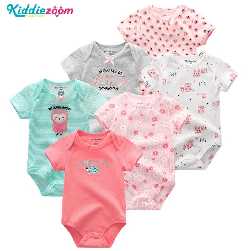 9b214e8fd808 Реквизит для фотографии новорожденных 6 шт. лот Одежда для новорожденных  девочек хлопок Детские боди