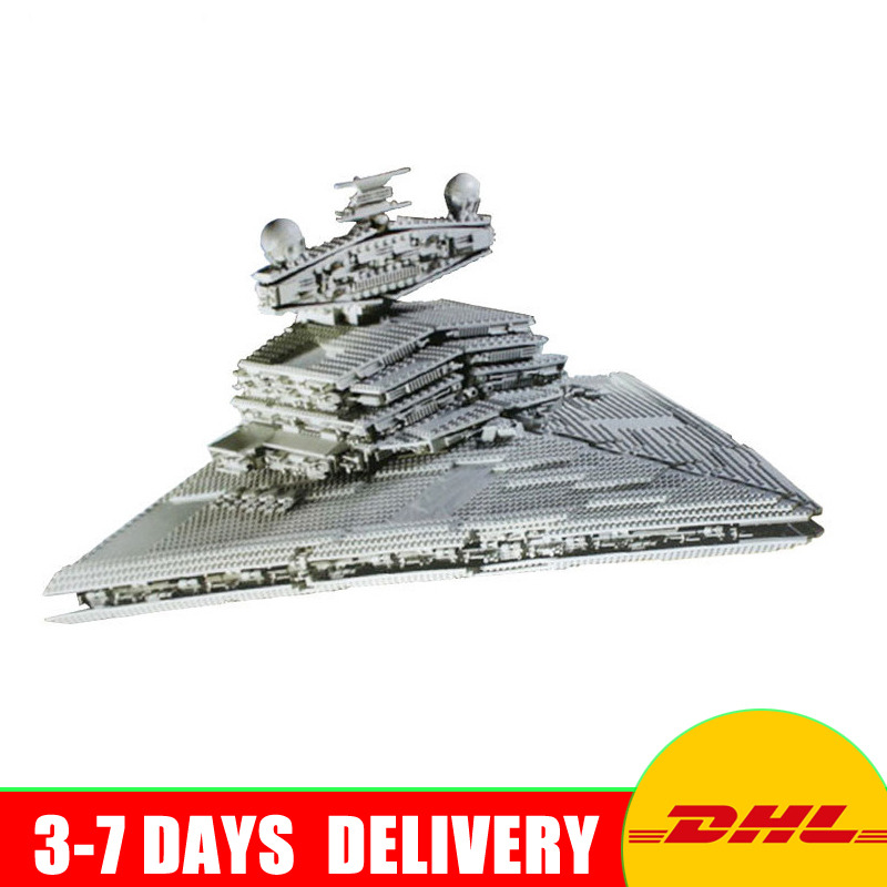 2018 New LEPIN 05027 3250Pcs UCS Imperial Star Destroyer Model Building Kit Blocks Bricks Compatible Toys 10030 lepin 05028 3208pcs star wars building blocks imperial star destroyer model action bricks toys compatible legoed 75055