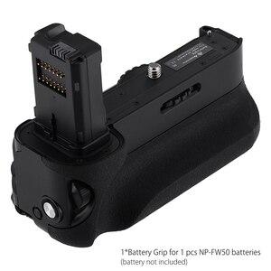 Image 2 - Vg C1Em pil kulbu yedeği Sony Alpha A7/A7S/A7R dijital Slr fotoğraf makinesi WorkMulti güç pil paketi değiştirme