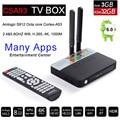 3 GB RAM 32 GB ROM Android 6.0 TV Box 2 GB 16 GB Amlogic S912 Octa Core CSA93 Streaming Reproductor Multimedia Inteligente TVbox Wifi BT4.0 4 K VS mi