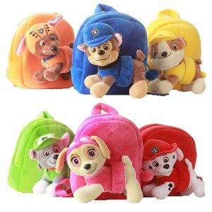 Image 1 - Paw Patrol Dog Stuffed & Plush Doll bag Anime Kids Toys Action Figure Plush Doll Model Stuffed and Plush Animals Toy gift