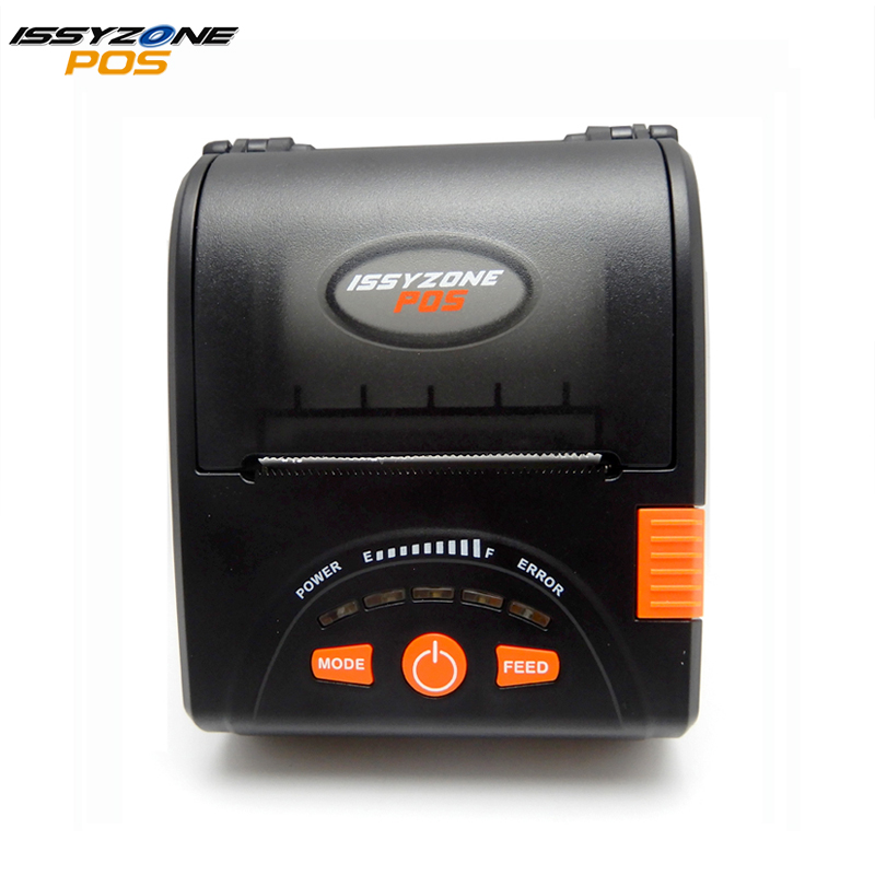 IssyzonePOS IMP001 Mobile Mini Portable Thermal Printer Bluetooth Receipt  Printer Handheld Pos Printing For Android IOS Free SDK