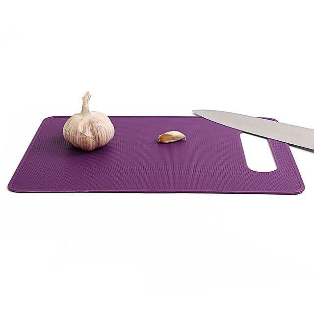 4 Pcs/Set Chopping Blocks Plastic Non-Slip Fruit Vegetable Cutting Board 2
