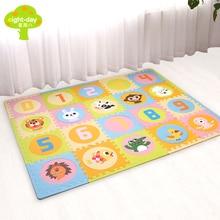 Фотография eight-day Brand Baby Mats 20pcs Soft Puzzle Mats For Children Kids Play Mats EVA Foam Rugs 1.4cm Thickness Baby Crawling Carpet