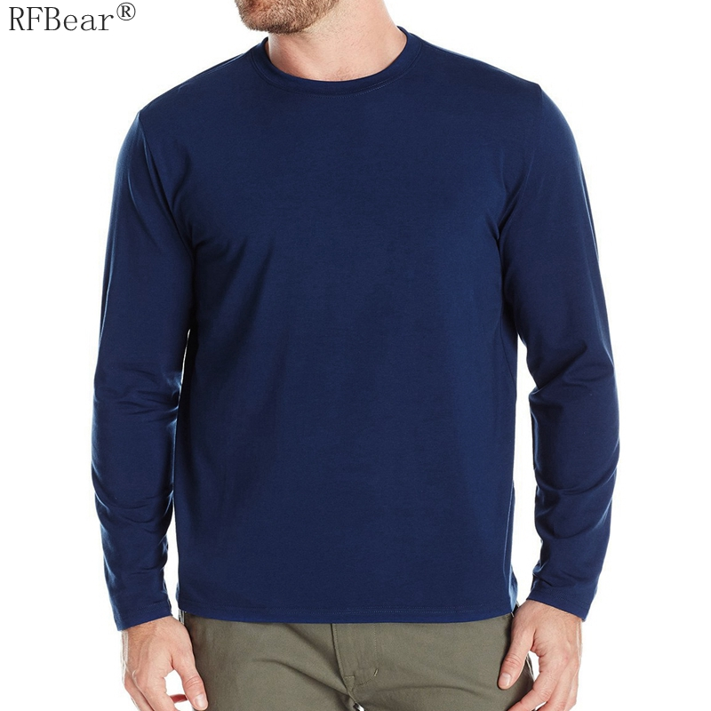 RFBEAR Brand cotton Solid color t shirt New 2016 Autumn and s
