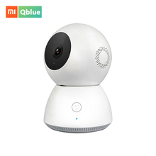 Xiaomi Mijia Xiaobai Smart IP Camera 360 Angle 1080P Full HD Night Vision Camcorder WiFi Wireless Camera APP Control Smart Cam 2018 new xiaomi mijia 1080p smart camera ip cam webcam camcorder 360 angle wifi wireless night vision for mi smart home app