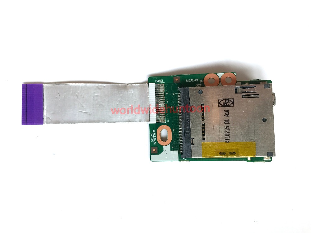 USB Card Reader FireWire Board With Cable For HP 6450b Series Motherboard PN 6050A2356001 100% Work 90 Days Warranty power distributor plus extension board for pdb pt808 s20 20 pin 1u sc808 90 days warranty