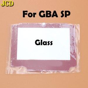 Image 5 - Jcd 1 pcs 플라스틱 유리 렌즈 gba sp 스크린 렌즈 커버 닌텐도 게임 보이 어드밴스 sp 렌즈 수호자 승/adhensive