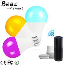 Boaz 7W Wifi Control Light Smart Bulb E27 Voice Alexa Echo Google Home IFTTT Tuya 3pcs