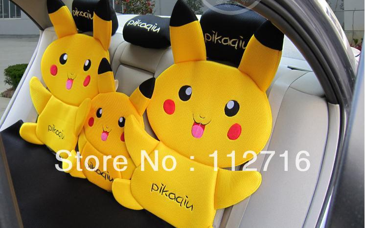 Free Shipping Pikachu Car Seat Cover Sandwich Auto Cushion Accessory In Automobiles Covers From Motorcycles On Aliexpress