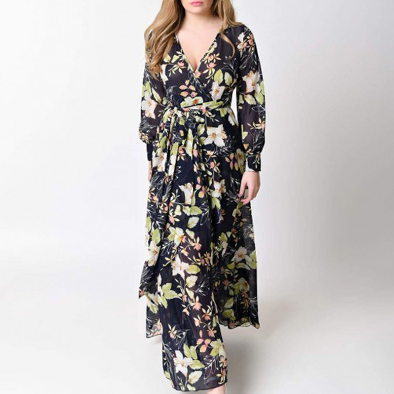 0ecf5a952f Women maternity Sexy Beach Dress Summer Floral Print long Maternity Dress  Maternity Photography Props V neck-in Dresses from Mother   Kids on  Aliexpress.com ...