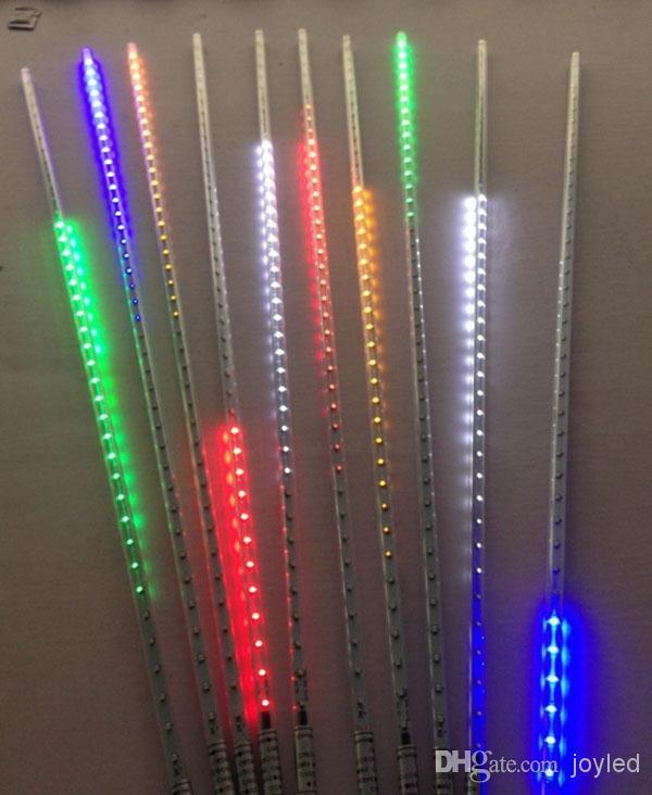 10 X 60leds 50 см Рождество SMD3528 огни метеорный поток Дождь Трубы свет для вечеринки Свадебные украшения