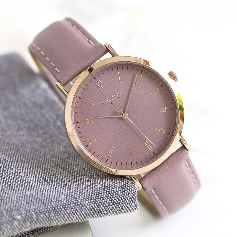 Julius Women's Watch Japan Quartz Lady Classic Hours Fashion Clock Dress Bracelet Leather Girl's Birthday Gift