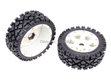 1/5 rc racing car parts, Front All Terrain wheels set  fit HPI Rovan Baja 5B