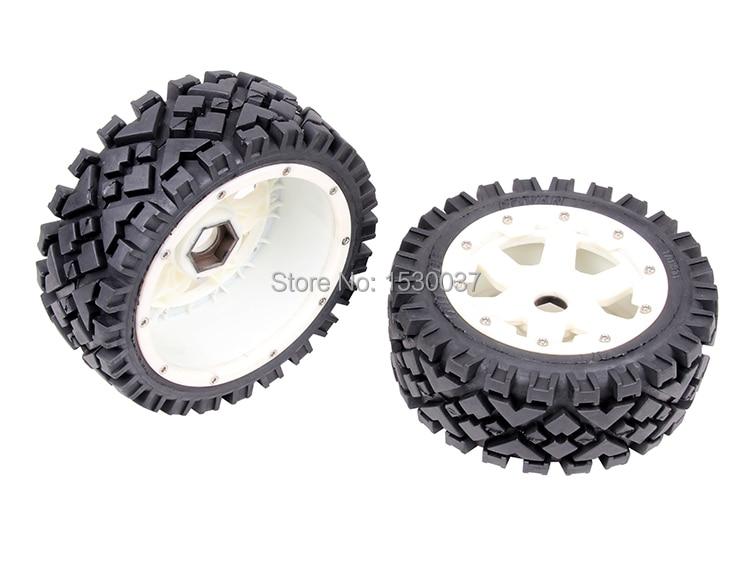 1/5 rc racing car parts, Front All Terrain wheels set  fit HPI Rovan Baja 5B  цена