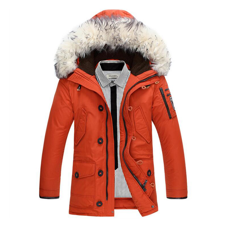 COCEDDB Winter Thick Warm Cotton Male Jacket Men Parka Hooded Casual Wadded Outerwear Fashion Faux Fur Hood Padded Quilted CoaT x long cotton padded jacket female faux fur hooded thick parka warm winter jacket women solid color wadded coat outerwear tt763