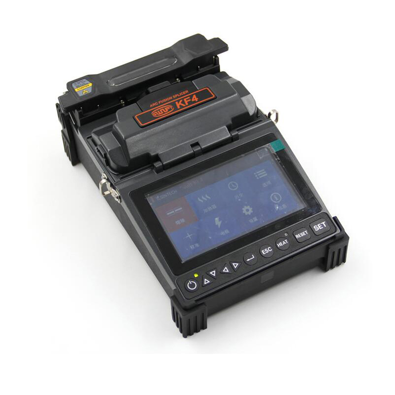 <font><b>ILSINTECH</b></font> Swift KF4 Fiber Fusion splicing machine KF4 Automatic Motor Drive KF4 Fiber Optic Fusion Splicer English menu image