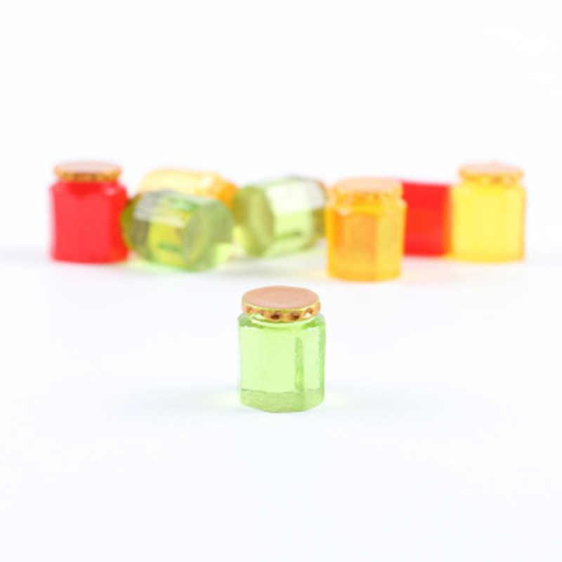 ZOCDOU 3 предмета в комплекте мед пчела может олово Mel бутылки продуктовый магазин Модель маленькая статуя маленькая фигурка ремесла рисунок орнамент миниатюры