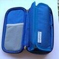 2016 saco ice pack saco térmico térmico de resfriamento de insulina geladeira bolsa termica 4-24 graus centígrados display com gelo géis