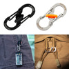 5pc 8 Shape Camping Hiking Outdoor Mountaineer Buckle Hanging Hook Clip free shipping