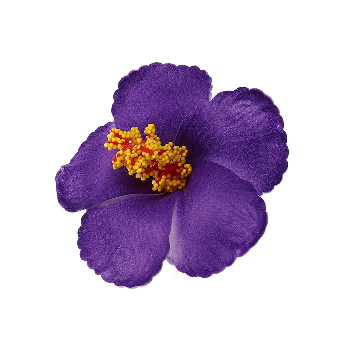1 шт. цветы гибискуса Гавайские цветы искусственные цветы для настольный домашний Свадебные украшения Подарки для гостей поставки