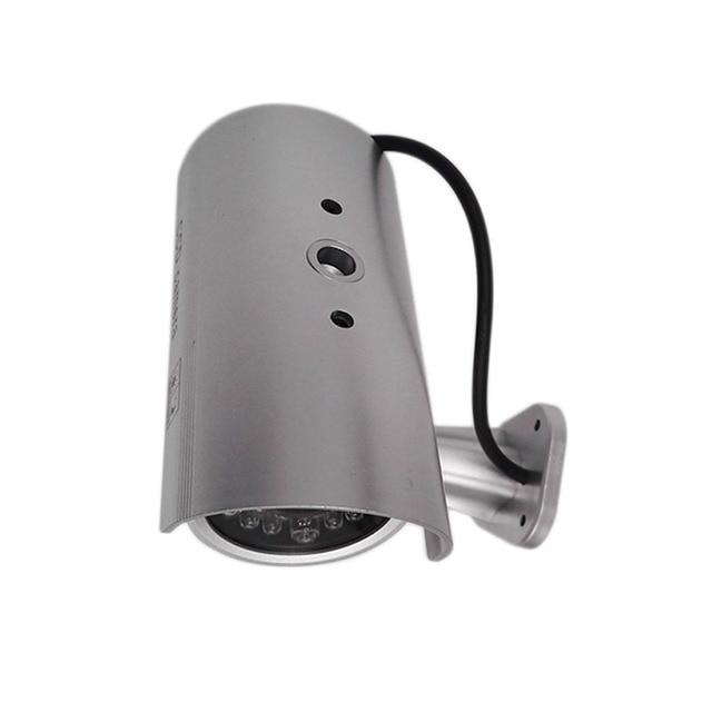 New Waterproof Outdoor Indoor Fake Bullet Camera Led Light Fake Security IP camera Simulation CCTV Camera video Surveillance