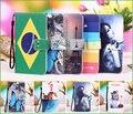 Para leagoo z1 case, 12 cores dos desenhos animados pintura pu de couro exclusivo capa case para leagoo z1 smartphone case + rastreamento