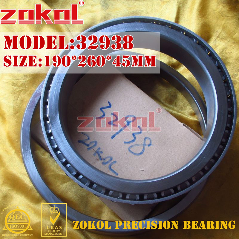 ZOKOL bearing 32938 2007938E Tapered Roller Bearing 190*260*45mmZOKOL bearing 32938 2007938E Tapered Roller Bearing 190*260*45mm